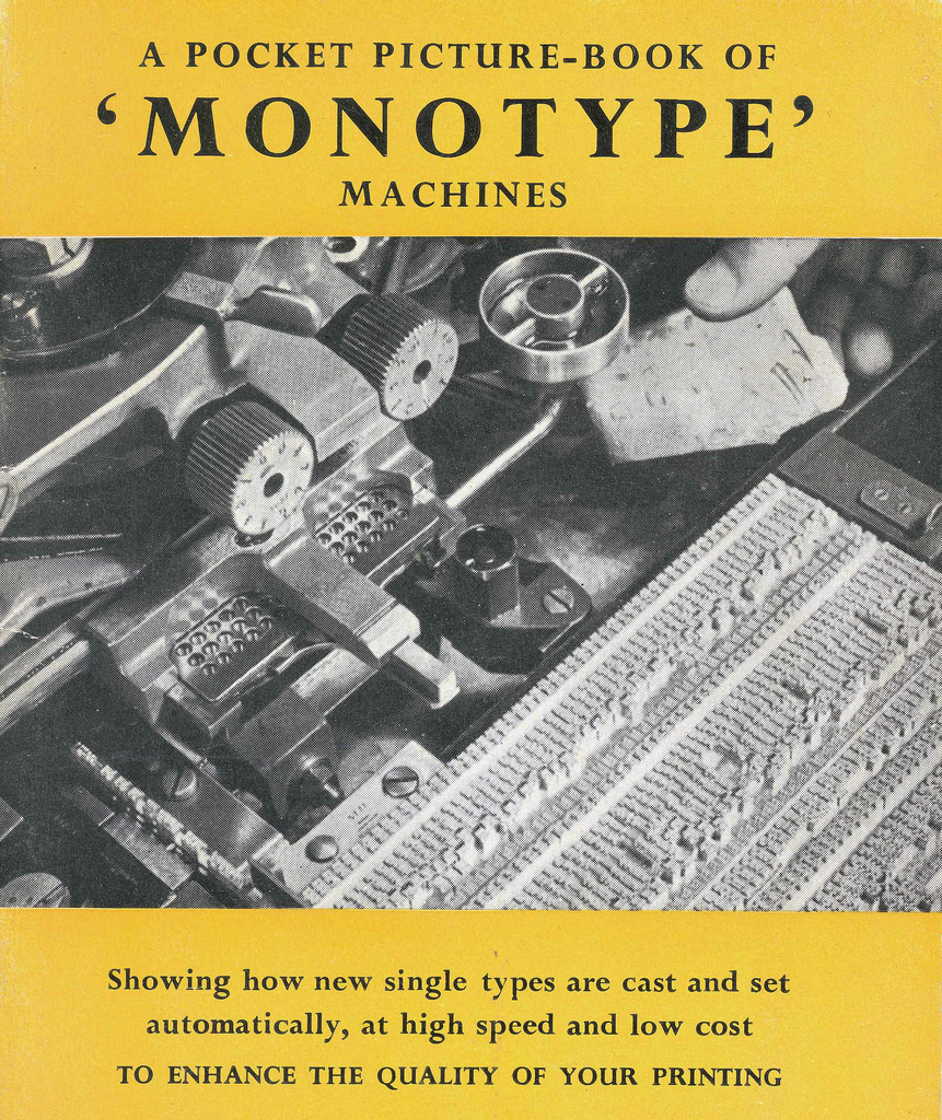 Monotype Machines (from Edinburgh City of Print)