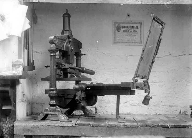 Albion Press (pictured in 1910) (from Kirklees Images)