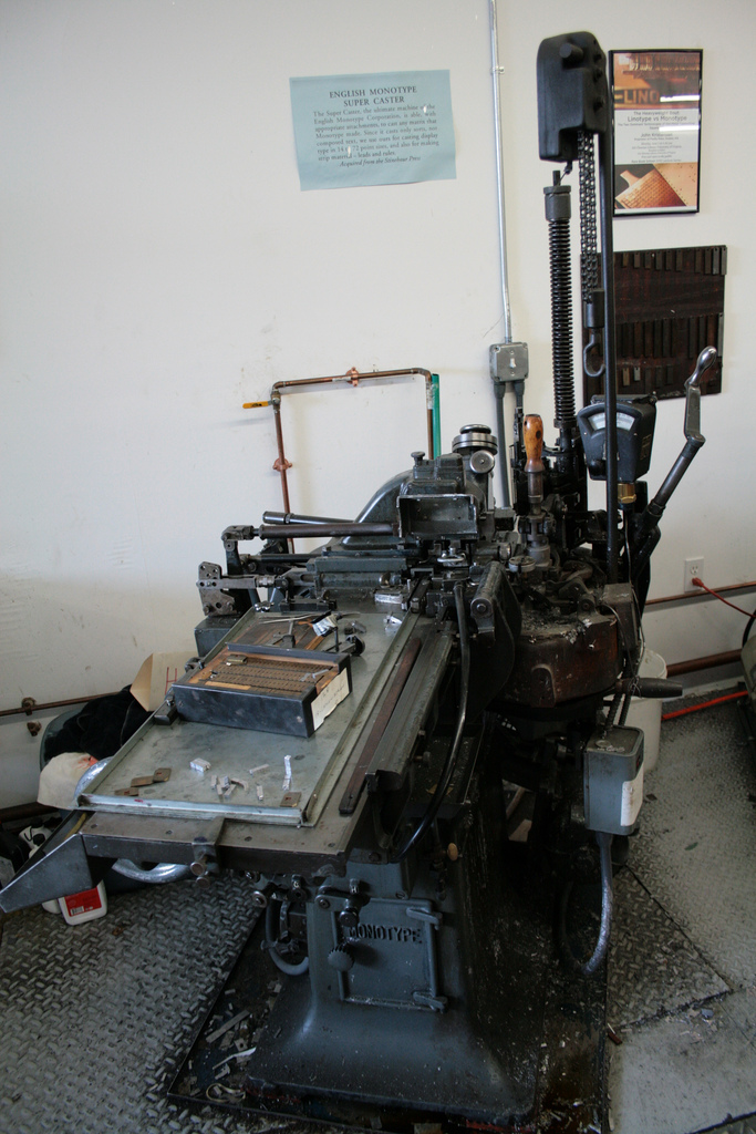 Monotype Super Caster (from Flickr)